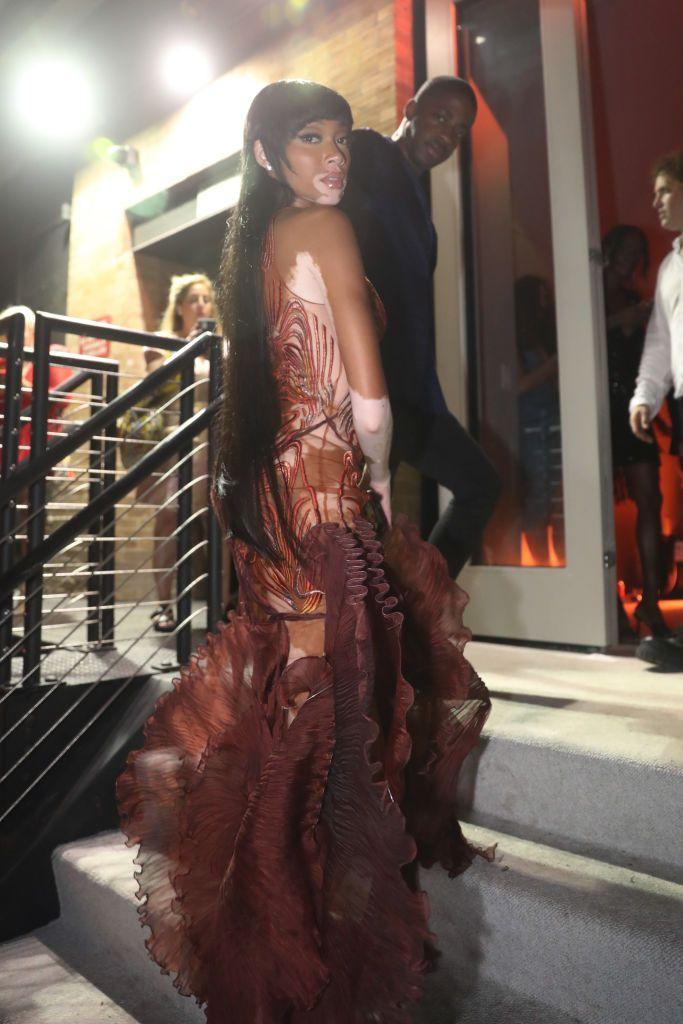 <p>Attending Rihanna's after party in NYC.</p>