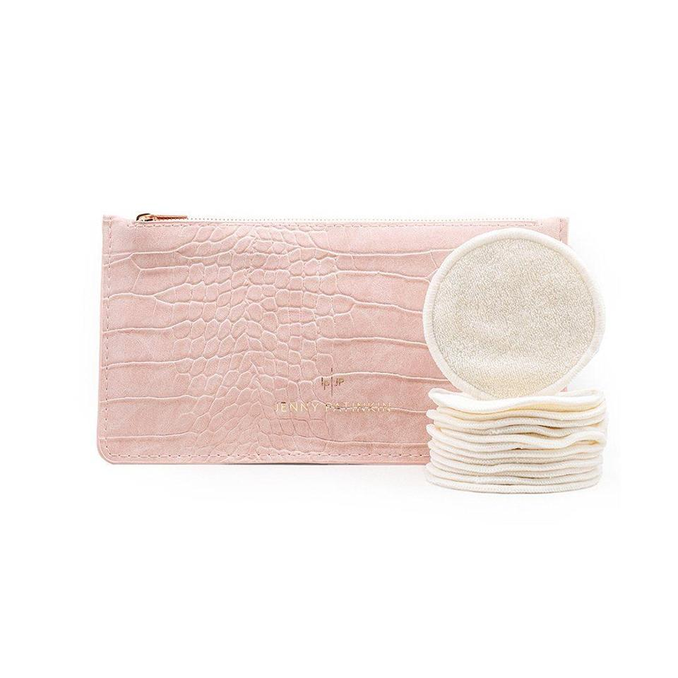"Reusable face rounds are a great place to start if they're looking to clean up their beauty regimen. The natural bamboo is soft on skin, and the material is machine washable so it's super easy to care for them. $38, Jenny Patinkin. <a href=""https://credobeauty.com/products/pure-luxury-organic-bamboo-reusable-cosmetic-rounds?nrtv_cid=88b2c5bb5fad2ff862dffa680a01ba0715cacf2f47f599fac0bd12783e91adc3&utm_source=bam&utm_medium=cpc&utm_campaign=bam_premium_editorial&utm_content=glamour&"" rel=""nofollow noopener"" target=""_blank"" data-ylk=""slk:Get it now!"" class=""link rapid-noclick-resp"">Get it now!</a>"