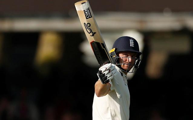 "Jos Buttler says England will hope to set Pakistan 200 or more in the final innings to complete a remarkable turnaround victory in the first Test of the summer. The third day ended with England 235-6 in their second innings - a lead of only 56 runs - and still facing the likelihood of a thumping defeat. ""Tomorrow we need to make it as big as we can: 150 would be great; we'd probably be trying to think more like 200. I know that's a lot more runs, but 200 in the fourth innings will be tough. But if it's 150, that's going to have to be enough."" Buttler said that ""of course"" England had belief they could win, despite conceding a first innings deficit of 179. ""The atmosphere in the ground was great there at the end, and of course in the dressing-room as well,"" he said. ""A fourth-innings score, chasing down a total, is never going to be easy – if we can get our way up to a challenging total."" Buttler, who closed on 66 not out, shared an unbroken partnership of 125 with debutant Dom Bess. Buttler believes Bess is showing all the right attributes for international cricket Credit: Getty Images ""He can obviously bat. It was a bit like Joe Root, some of those back-foot punches and cover-drives,"" Buttler said. ""He's really taken to it. He's got a great character, and I think he really loves the competition. He's got some really good attributes, which you need in international cricket."" In his first Test for 17 months, Buttler played with assurance, suggesting that he can transfer his stunning recent Indian Premier League form into Test cricket. ""It felt great … we spoke before the game about trying not to worry about the colour of the ball."" Pakistan's batsman Asad Shafiq admitted that the team was now under pressure if they did not break the Bess-Buttler partnership early with the second new ball, which is due after two more overs. ""We need to break this partnership as soon as we can with the new ball,"" he said. ""We won't be happy to chase anything over 150."""