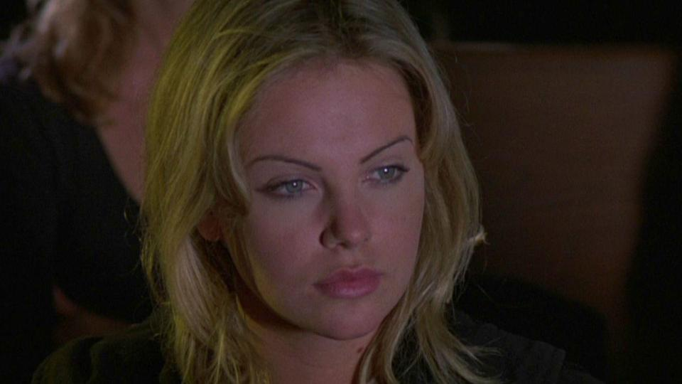 <p>In a small and uncredited role, Charlize played a follower of Eli, one of the brothers who have the power to bring He Who Walks Behind the Rows.</p>