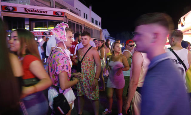 The laws cover popular tourist areas in Magaluf, Ibiza and parts of Palma (Picture: Clara Margais/Getty Images)