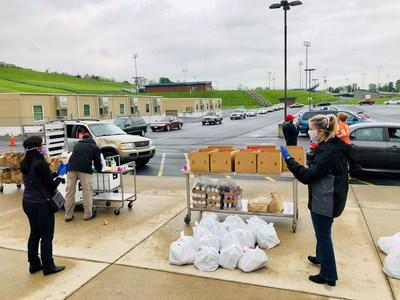 """Thanks to funding provided by Perdue Farms, the new """"Good Food School Market"""" concept has provided nutritious meals to students in Harrisonburg, Va., and Rockingham County during the COVID-19 pandemic."""