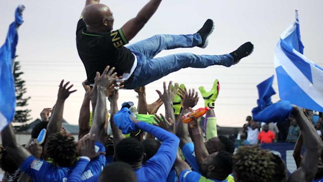 The People's Elephant midfielder has stressed that their title win was electrifying after many wrote them off the end of the season