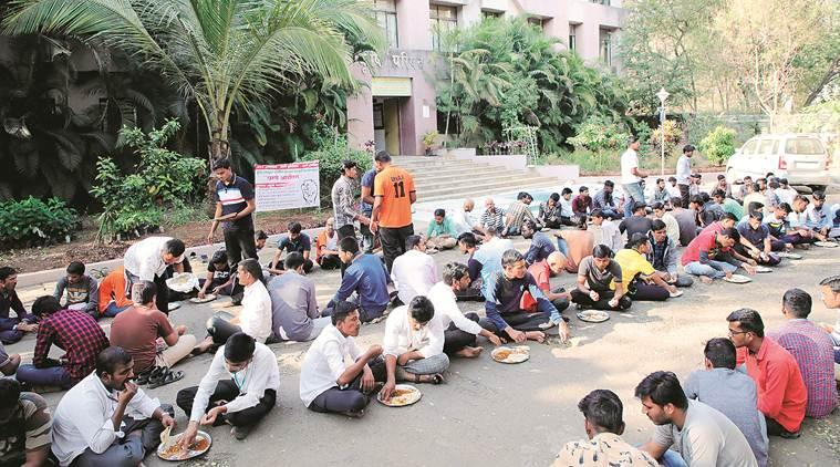 Pune news, Pune city news, Pune Bhosale Nagar student strike, MSc Agriculture strike, Indian Express news