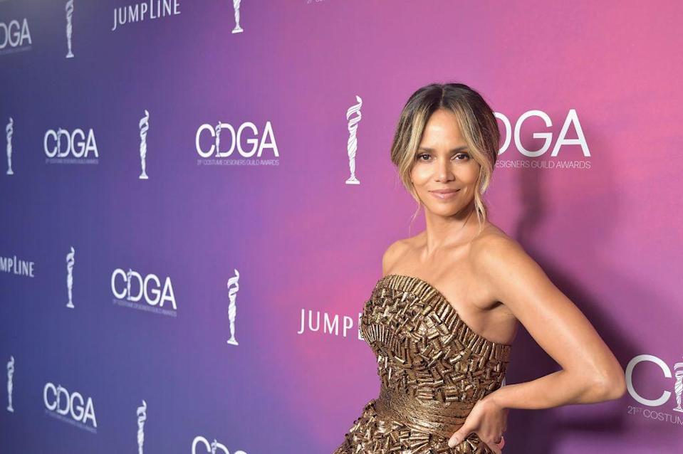 Halle Berry's sexy selfie earned rave reviews. (Photo: Stefanie Keenan/Getty Images for CDGA)