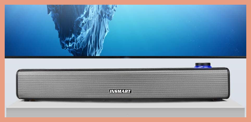 Save nearly 30 percent on this Insmart Laptop Sound Bar. (Photo: Insmart)