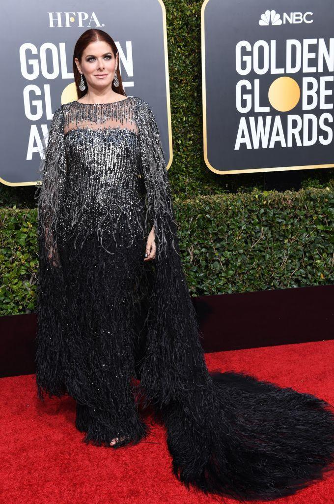 <p>Debra Messing attends the 76th Annual Golden Globe Awards at the Beverly Hilton Hotel in Beverly Hills, Calif., on Jan. 6, 2019. (Photo: Getty Images) </p>