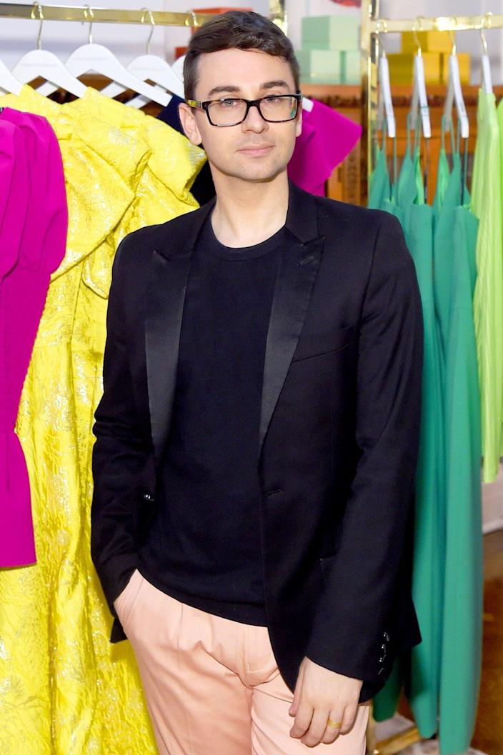 Christian Siriano Granted New York State Funding To Make Ppe For Nonmedical Public Service Workers