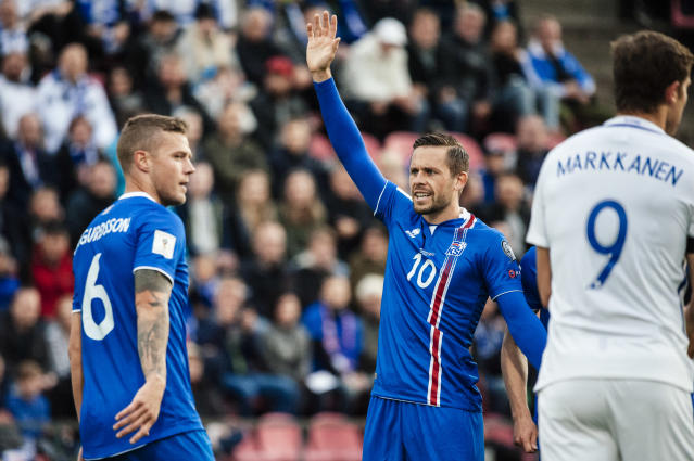 <p>Age: 28<br>Caps: 57<br>Position: Midfielder<br>Iceland's success in recent times has been one of the most romantic stories in the history of international football – Everton's Sigurdsson has been central to it all, and he will doubtless be again in Russia. </p>