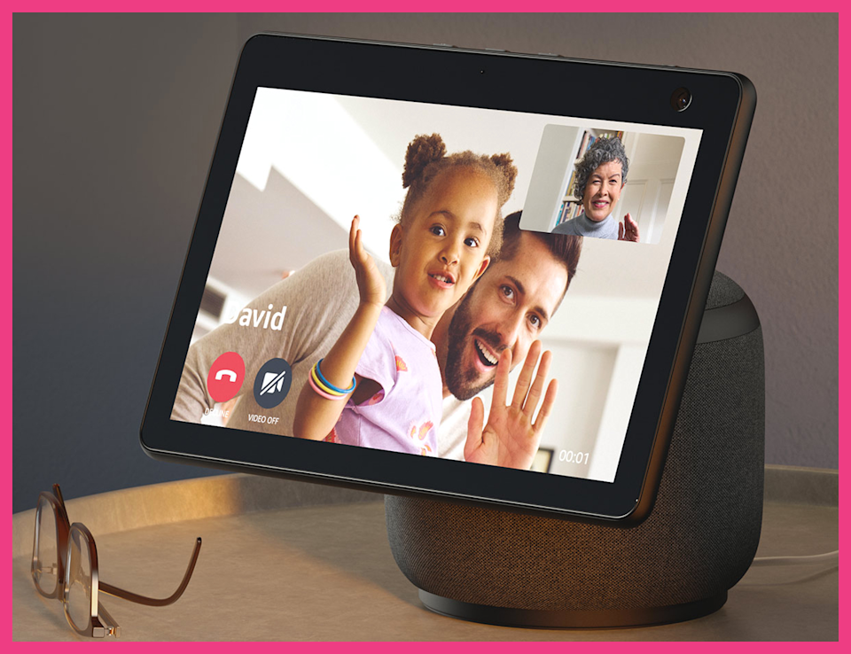 Easily connect with family and friends via the Echo Show 10. (Photo: Amazon)