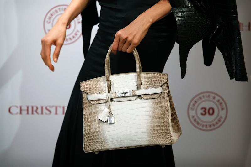 The Birkin bag is most expensive handbag sold at auction in Europe. [Photo: Getty]