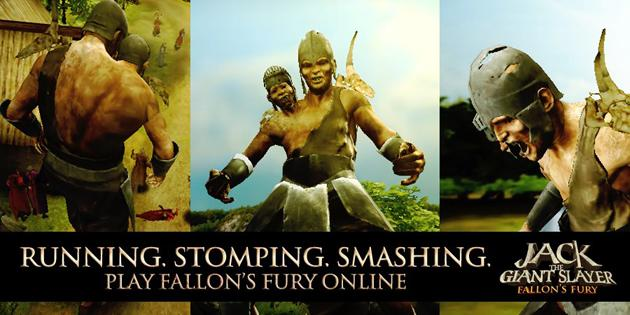 Click above to play the Jack the Giant Slayer Fallon's Fury game