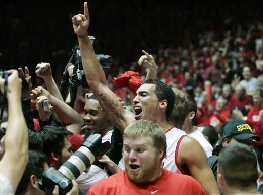 New Mexico beats No. 11 UNLV 65-45