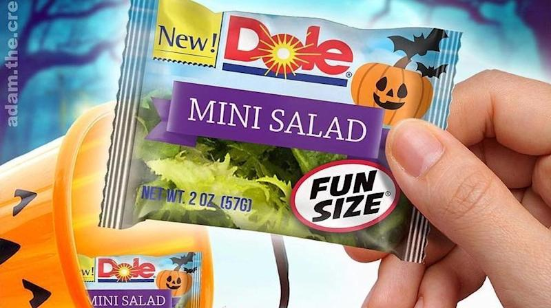 These 'Fun Size' Salads May Be The Scariest Trick This Halloween