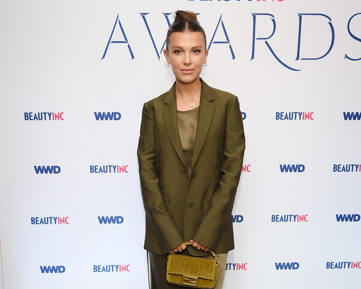 """<p>Millie's family moved back and forth between the US and the UK for years while trying to launch her career. At one point, they even needed to <a href=""""https://www.glamourmagazine.co.uk/gallery/millie-bobby-brown-facts-age-parents-interview-bio"""" target=""""_blank"""" class=""""ga-track"""" data-ga-category=""""Related"""" data-ga-label=""""https://www.glamourmagazine.co.uk/gallery/millie-bobby-brown-facts-age-parents-interview-bio"""" data-ga-action=""""In-Line Links"""">borrow money from Millie's manager</a>. <a href=""""https://www.dailymail.co.uk/tvshowbiz/article-3727486/Defeated-flat-broke-risked-make-girl-star-Parents-Brit-actress-12-outshone-Winona-Ryder-Netflix-hit-sold-help-achieve-Hollywood-dream.html"""" target=""""_blank"""" class=""""ga-track"""" data-ga-category=""""Related"""" data-ga-label=""""https://www.dailymail.co.uk/tvshowbiz/article-3727486/Defeated-flat-broke-risked-make-girl-star-Parents-Brit-actress-12-outshone-Winona-Ryder-Netflix-hit-sold-help-achieve-Hollywood-dream.html"""" data-ga-action=""""In-Line Links"""">Millie told the <strong>Daily Mail</strong></a> that when they moved back to the UK for the last time, """"I was devastated. I wasn't getting work. I thought I was done,"""" and that she had met with a casting agent who had told her she was """"too mature and grown up."""" But just after that, Millie landed her role on <strong>Stranger Things</strong> and her life changed.</p>"""