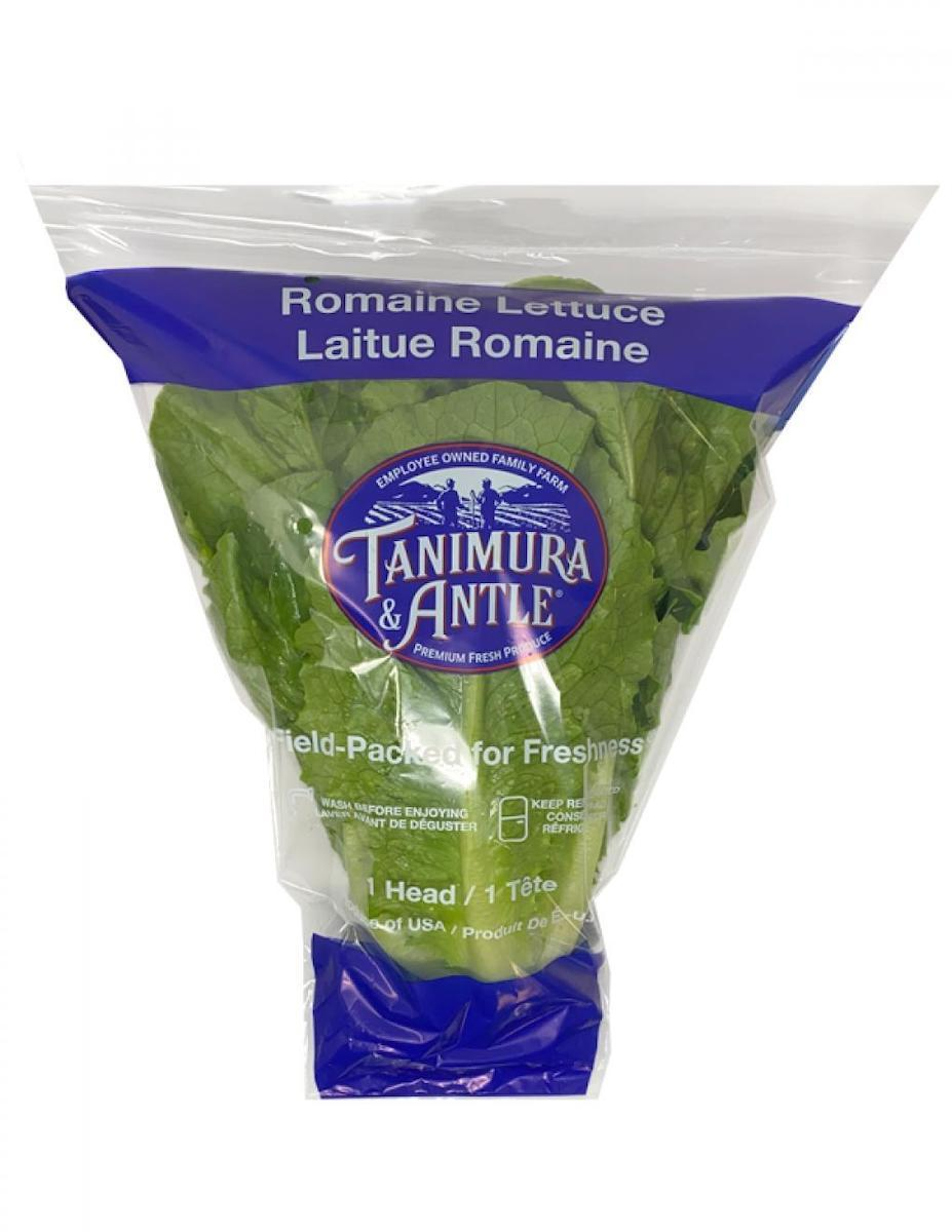 Tanimura romaine lettuce from Walmart, which has been recalled FDA