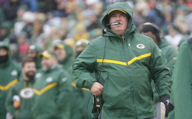 The Green Bay Packers sacked head coach Mike McCarthy after they lost 20-17 at home to the Cardinals - FR155603 AP