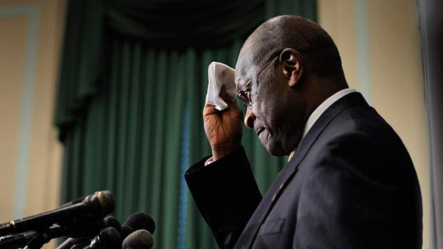 Herman Cain Reassessing Campaign