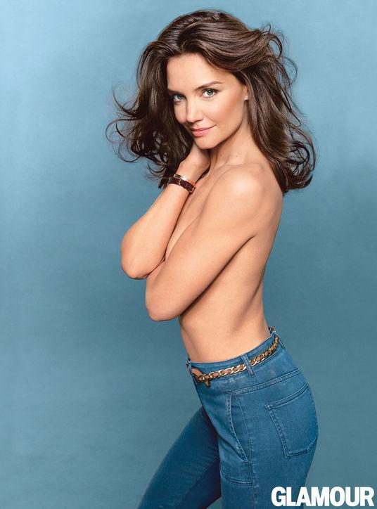 katie holmes topless glamour