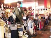 """<p>Sleepy Salt Lake City is not an obvious choice for quality vintage. But <a href=""""https://www.facebook.com/pages/Decades-Vintage-Clothing/167569786587801"""" rel=""""nofollow noopener"""" target=""""_blank"""" data-ylk=""""slk:Decades"""" class=""""link rapid-noclick-resp"""">Decades</a> has it in large order, with notable selections of designer wear (Armani, Blass, et al.) and antique garments from the Victorian era through the early 1900s. (A recent haul from a Phoenix estate featured 800 dresses from the '20s, an enduring decade for local shoppers.) The showroom features menswear in the front (the lumberjack look is hot), with women's sprawling over 3,000 square feet in the back, organized by era and style.</p><p><i><a href=""""https://www.facebook.com/pages/Decades-Vintage-Clothing/167569786587801"""" rel=""""nofollow noopener"""" target=""""_blank"""" data-ylk=""""slk:Decades"""" class=""""link rapid-noclick-resp"""">Decades</a>, 627 S. State St., Salt Lake City, UT 84111. (801) 537-1357</i></p>"""