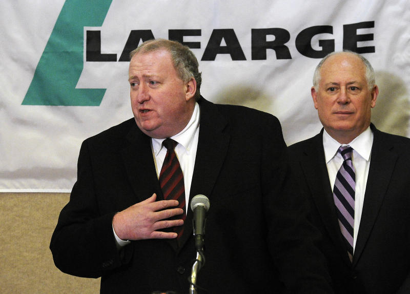 Lafarge moving North American HQ to Illinois