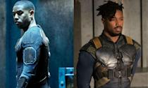 <p>Michael played Johnny Storm AKA The Human Torch in the ill-fated <em>Fantastic Four</em> reboot but has since boosted his Marvel status as villain Erik Killmonger in <em>Black Panther.</em> </p>