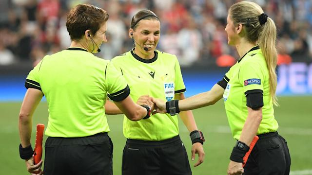 A team of female officials took charge of the UEFA Super Cup for the first time on Wednesday and Jurgen Klopp was impressed.