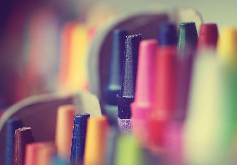 "<p>Crayola's senior crayon maker Emerson Moser retired after creating <a href=""https://www.goodhousekeeping.com/home/cleaning/tips/a17888/stains-crayon-may07/"" rel=""nofollow noopener"" target=""_blank"" data-ylk=""slk:1.4 billion crayons"" class=""link rapid-noclick-resp"">1.4 billion crayons</a> over a 35-year career. Upon his retirement, he revealed that he was actually blue-green color blind.</p>"