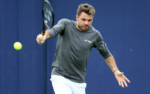 """<span>Evans will play <a class=""""link rapid-noclick-resp"""" href=""""/olympics/rio-2016/a/1223139/"""" data-ylk=""""slk:Stan Wawrinka"""">Stan Wawrinka</a> in the first round at Queen's</span> <span>Credit: Getty Images </span>"""
