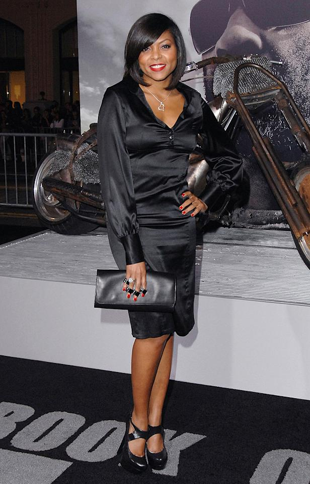 "<a href=""http://movies.yahoo.com/movie/contributor/1804514499"">Taraji P. Henson</a> at the Los Angeles premiere of <a href=""http://movies.yahoo.com/movie/1810067275/info"">The Book of Eli</a> - 01/11/2010"