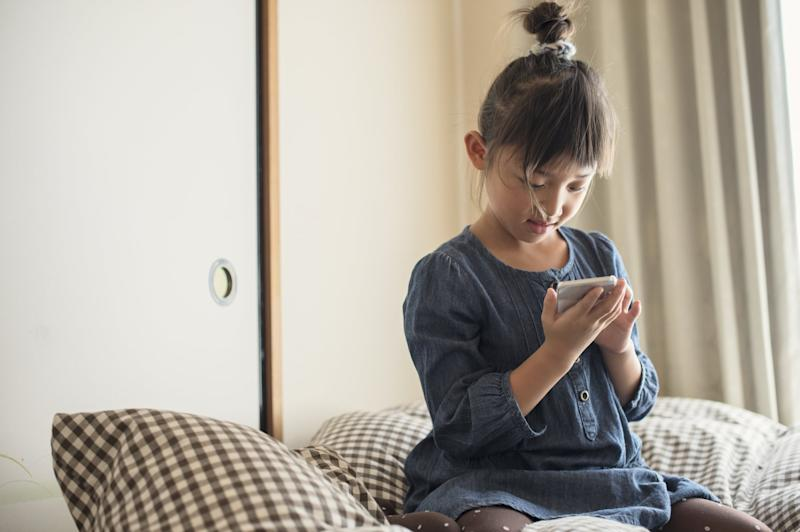 Girl of 7 years old,Japanese family,Japan