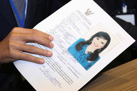 Thai election commission to rule on PM candidacy of princess