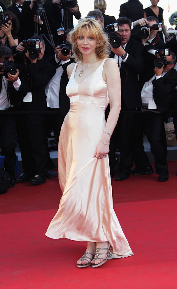 """<a href=""""http://movies.yahoo.com/movie/contributor/1800018570"""">Courtney Love</a> attends the 64th Annual Cannes Film Festival premiere of """"This Must Be The Place"""" on May 20, 2011."""