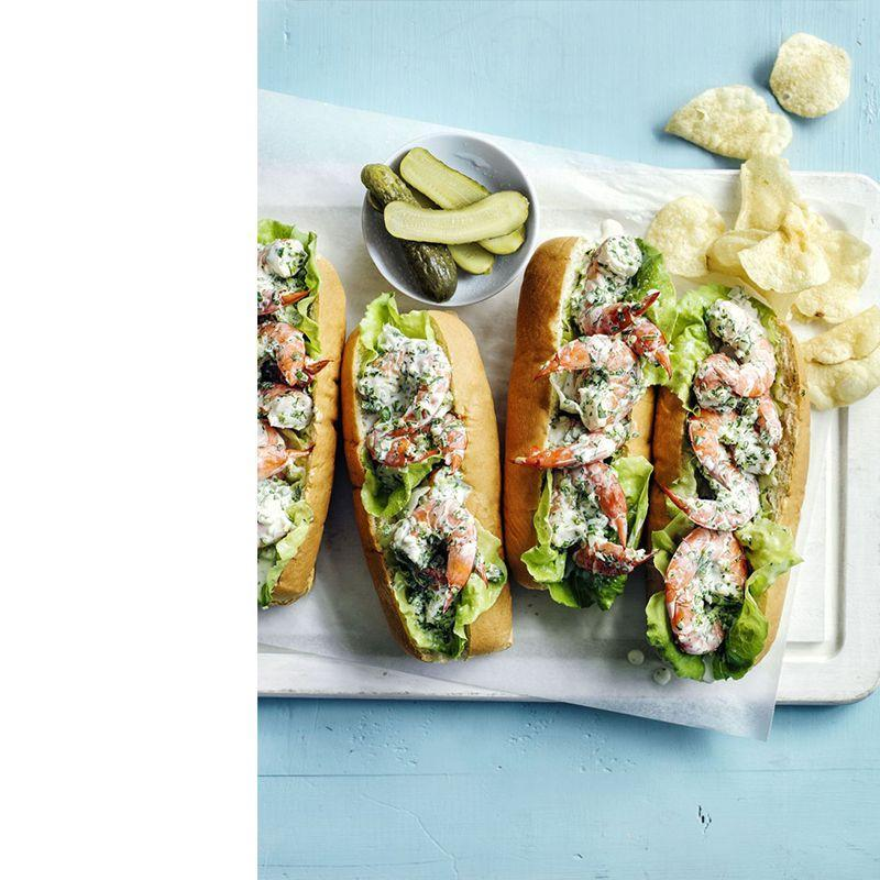 """<p>Cool and refreshing, assemble these no-cook roll sandwiches if it's just too darn hot to grill.</p><p><a href=""""https://www.womansday.com/food-recipes/food-drinks/recipes/a55358/shrimp-rolls-recipe/"""" rel=""""nofollow noopener"""" target=""""_blank"""" data-ylk=""""slk:Get the Shrimp Rolls recipe."""" class=""""link rapid-noclick-resp""""><em>Get the Shrimp Rolls recipe.</em></a></p>"""