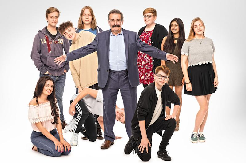 Growing up: Professor Robert Winston is back with series 11 of Child of Our Time: BBC