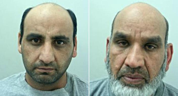 Rafaqat Ali, pictured left, was found guilty of murder and wounding with intent. The men met and armed themselves at the home of Fazal Ilahi, right. (PA)