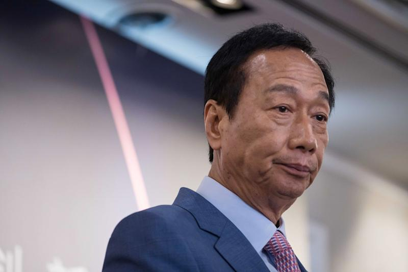 Foxconn Billionaire Clears Path for Taiwan Presidential Run