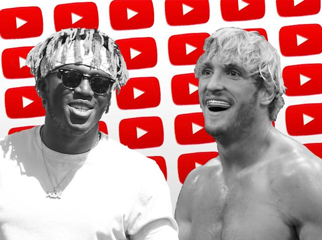 KSI and Logan Paul fight this weekend: Getty/Independent