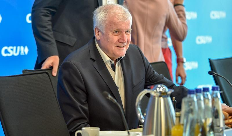 Horst Seehofer wants to step down as Christian Social Union chairman and German interior minister, party sources said
