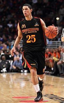Austin Rivers, Rivals.com's top-ranked high school player, will play for Duke
