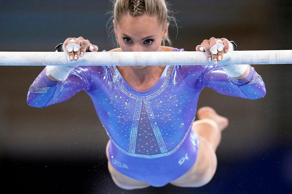 MyKayla Skinner is one of the American gymnasts who could be hurt by the two-per-country rule.