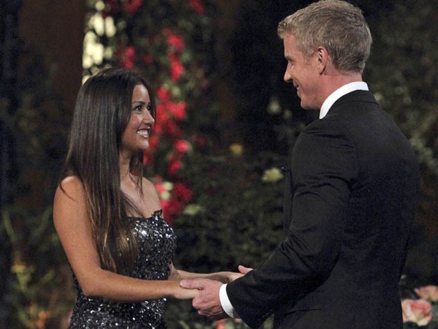 """Catherine and Sean from """"The Bachelor"""" Season 17."""