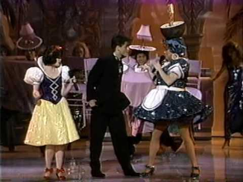 """<p>The entire 11-minute performance shows Disney princess Snow White attending the Oscars—and was incredibly weird for people to watch. What was even weirder was when actor Rob Lowe appeared on stage to sing a duet with the princess (skip to five minutes in). Lowe opened up to the <em><a href=""""http://www.nytimes.com/1992/01/20/theater/rob-lowe-braves-farce.html"""" target=""""_blank"""">New York Times</a> </em>about the debacle in 1992, saying, """"Look, the academy asked me to take that role so I was a good soldier and did it. You can't be your own manager and agent and soothsayer—you have to take risks. And on that one I got shot in the foot.""""</p><p><a href=""""https://www.youtube.com/watch?v=9mronRVvdmw"""">See the original post on Youtube</a></p>"""