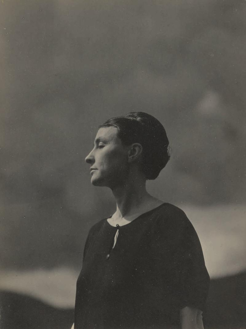 A portrait by Alfred Stieglitz of the artist will also be offered at auction.