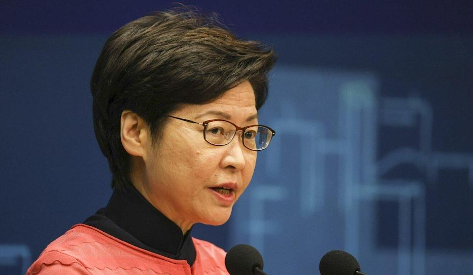Chief Executive Carrie Lam will give the final policy address of her term on Wednesday. Photo: Nora Tam