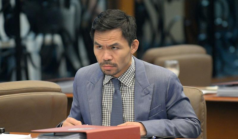 Manny Pacquiao for Philippines president? Boxing icon plays down succeeding Duterte … for now