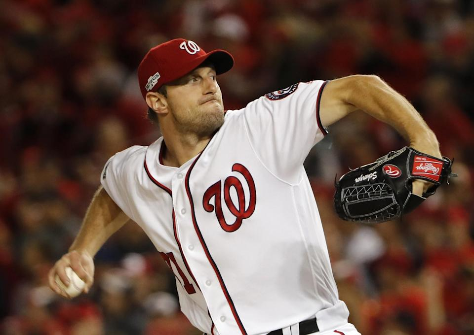 Max Scherzer is now the sixth pitcher to win the Cy Young in both leagues. (AP)