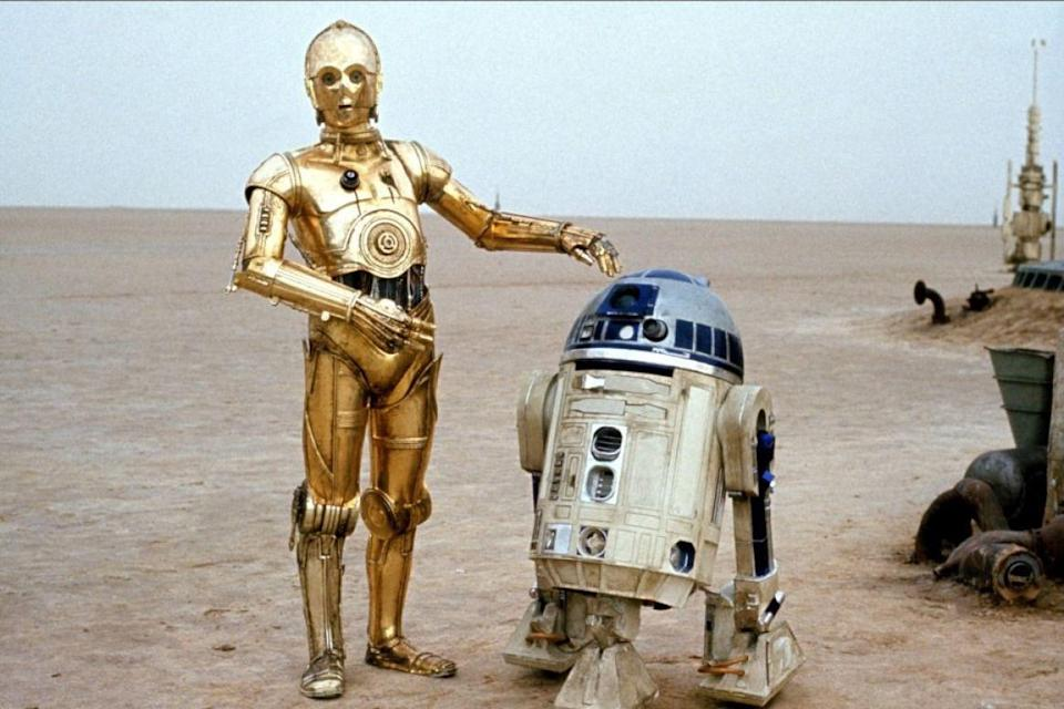 "<p>Although they played (robot) friends R2-D2 and C-3PO onscreen, Baker and Daniels couldn't have been less so. The feud <a href=""http://www.telegraph.co.uk/film/star-wars-the-force-awakens/c3po-actor-r2d2-feud/"" rel=""nofollow noopener"" target=""_blank"" data-ylk=""slk:apparently started"" class=""link rapid-noclick-resp"">apparently started</a> when Baker attempted to say hello to Daniels one morning early in filming, and Daniels turned his back on him, stating 'Can't you see I'm having a conversation?' This struck a chord with Baker: """"It was the rudest thing anyone had ever done to me. I was furious. It was unbelievable."" This early scuffle set the tone for the rest of their filming relationship, Baker later saying in 2006: ""We were both in our droids; there was no interconnection at all. We couldn't hear or see each other."" And it seems they were both fine with that. </p>"