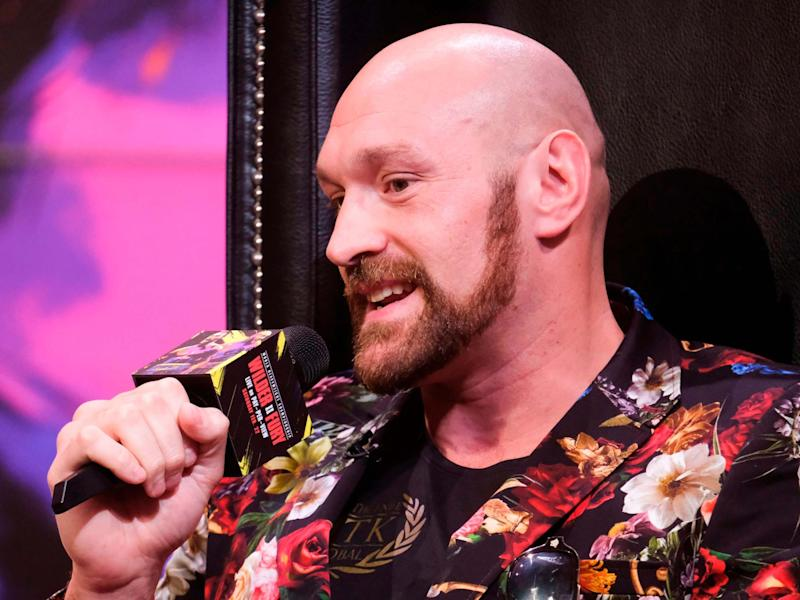 Tyson Fury has opened up on his mental health struggles that he continues to experience: AFP via Getty