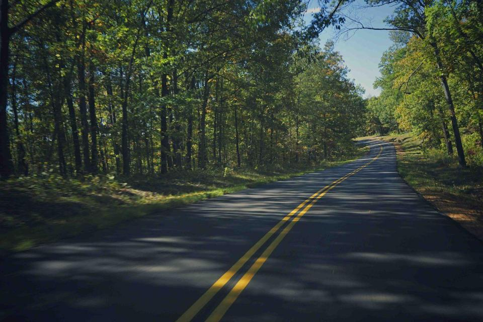 """<p><strong>The Drive: </strong><a href=""""https://go.redirectingat.com?id=74968X1596630&url=https%3A%2F%2Fwww.tripadvisor.com%2FTourism-g44758-Ozark_Missouri-Vacations.html&sref=https%3A%2F%2Fwww.goodhousekeeping.com%2Flife%2Ftravel%2Fg37101557%2Fmost-scenic-drives-in-america%2F"""" rel=""""nofollow noopener"""" target=""""_blank"""" data-ylk=""""slk:Missouri Ozarks"""" class=""""link rapid-noclick-resp"""">Missouri Ozarks</a> Getaway</p><p><strong>The Scene: </strong>Loop through the rolling hills of the Ozarks starting in <a href=""""https://go.redirectingat.com?id=74968X1596630&url=https%3A%2F%2Fwww.tripadvisor.com%2FTourism-g44943-Strafford_Missouri-Vacations.html&sref=https%3A%2F%2Fwww.goodhousekeeping.com%2Flife%2Ftravel%2Fg37101557%2Fmost-scenic-drives-in-america%2F"""" rel=""""nofollow noopener"""" target=""""_blank"""" data-ylk=""""slk:Strafford, Missouri"""" class=""""link rapid-noclick-resp"""">Strafford, Missouri</a>, and ending in <a href=""""https://go.redirectingat.com?id=74968X1596630&url=https%3A%2F%2Fwww.tripadvisor.com%2FTourism-g44926-Springfield_Missouri-Vacations.html&sref=https%3A%2F%2Fwww.goodhousekeeping.com%2Flife%2Ftravel%2Fg37101557%2Fmost-scenic-drives-in-america%2F"""" rel=""""nofollow noopener"""" target=""""_blank"""" data-ylk=""""slk:Springfield"""" class=""""link rapid-noclick-resp"""">Springfield</a>, the third largest city in the state. The route includes Missouri Routes 126 and 76, and U.S. Routes 160 and 65. You'll go south on 125 from Strafford to the community of Reuters (about 61 miles) before turning west on to U.S. 160. Follow 160 west until it hits Highway 76 (about 24 miles) just east of Forsyth. From there, turn south on 76 and you'll drive about 15 miles to Branson, before connecting with 65 north to Springfield. You'll see countless roadside streams and charming small towns along the way.</p><p><strong>The Pit-Stop: </strong>Visit sections of the <a href=""""https://go.redirectingat.com?id=74968X1596630&url=https%3A%2F%2Fwww.tripadvisor.com%2FAttraction_Review-g44862-d10112718-Reviews-Mark_Twain_National_Fore"""